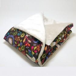 Arrullo bebé acolchado - palomas jardin
