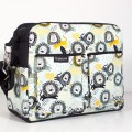 Baby diaper bag - chic lions
