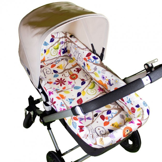 Bassinet cover for Bugaboo FROG - choose the fabric