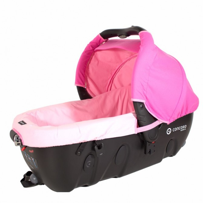 Canopy and cover for carrycot Concord Sleeper - choose the fabric