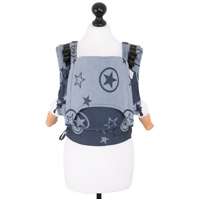 Ergonomic baby carrier Fidella Fusion baby Outer Space blue