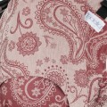 Ergonomic baby carrier fidella fusion baby red paisley