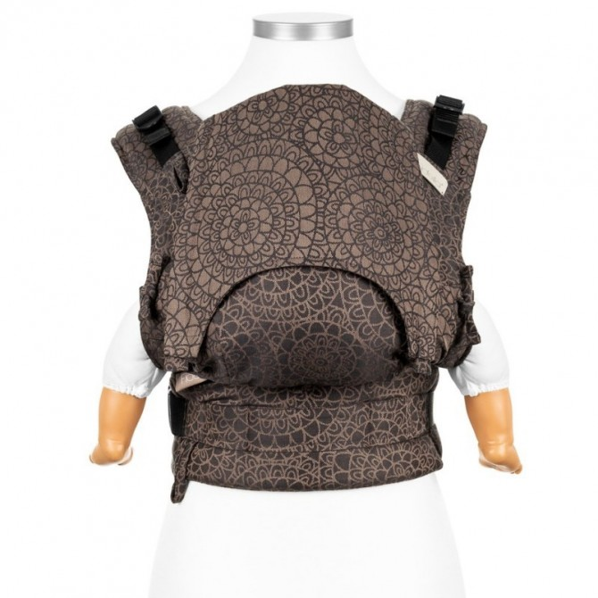 Ergonomic baby carrier Mosaic mocca