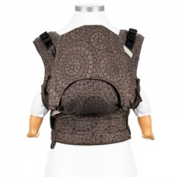 Ergonomic baby carrier Mosaic mocca