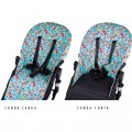 Bugaboo Seat liner - sweet animals