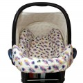 Housse pour maxi cosi Cabriofix - peacock feathers