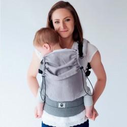 Ergonomic buckled baby carrier Howlite
