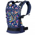 Ergonomic buckled baby carrier Peacock Bloom