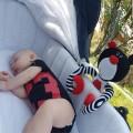Peluche cuna bebé - Boo brazos spiral