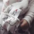 Muselina bebé bambu - unicornios