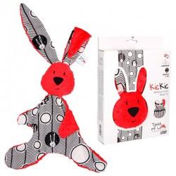 Dou dou conejito - rojo & negro