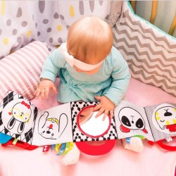 Libro tela bebé - caritas animales