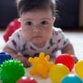 Pelotas sensoriales bebe - pack 5 unds