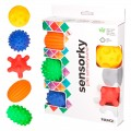 Caja de bolas sensoriales bebe juguete