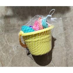 baby beach bucket set nordic pastels