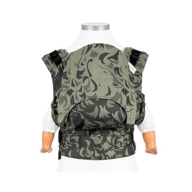 Mochila portabebés ergonómica Wolf Verde