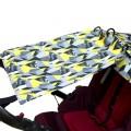 Le rideau de poussette - yellow pop