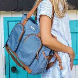 Bolso bebé - confort denim