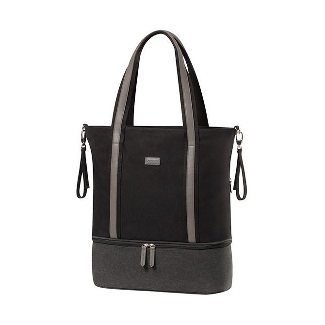 Bolsa bebé - vertical black