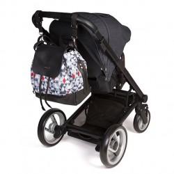 Bolso mochila bebé - triángulos