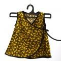 Vestido verano bebé - kimono animal print