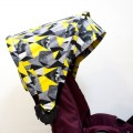 Capota carrito Jane Muum - pop art amarillo