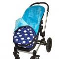 Saco para silla de paseo universal - estampado nubes