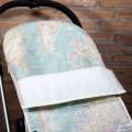 Chancelière pour poussette universelle - carte du monde