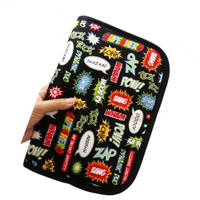 Baby documents pouch - comic