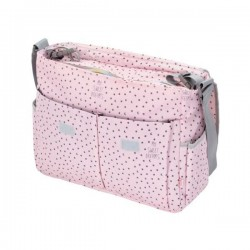 Baby Messenger diaper bag sweet dreams Pink