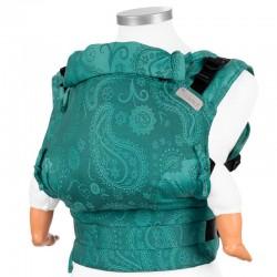 Mochila portabebés ergonómica Fidella fusion baby Paisley verde