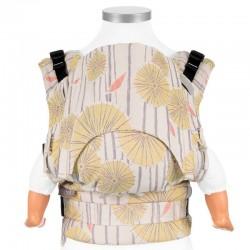 Ergonomic baby carrier FIDELLA - Yellow Tokyo