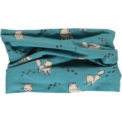 Tube scarf Artic fox by Maxomorra