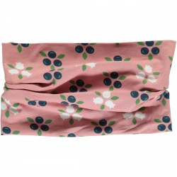 Tube scarf blueberry blossom by Maxomorra