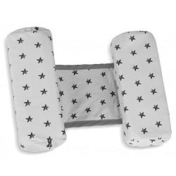 Anti rollover cushion Gray stars