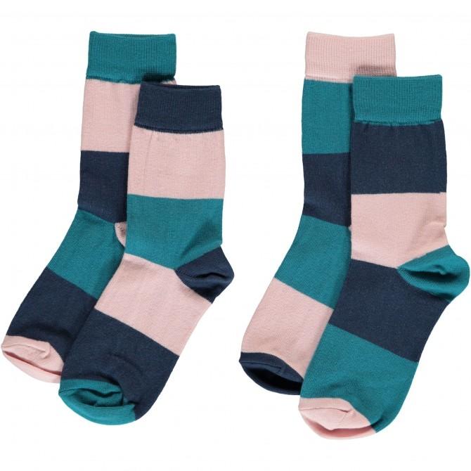 Baby socks stripes multi