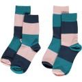 Calcetines para bebé rayas multicolor