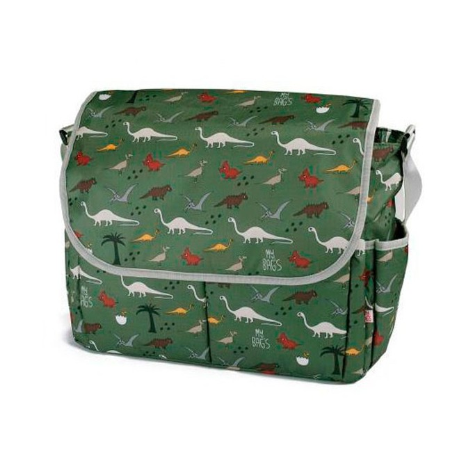 Baby Messenger diaper bag sweet dreams grey By Mybags