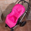 Saco carrito universal invierno bebe - calaveras gris
