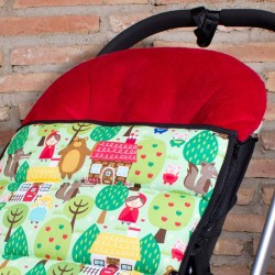 Universal stroller footmuff - Little Red Riding Hood