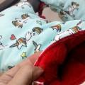 Manoplas para carrito bebé - unicornios