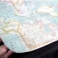 Housse pour poussette Bugaboo - carte du monde