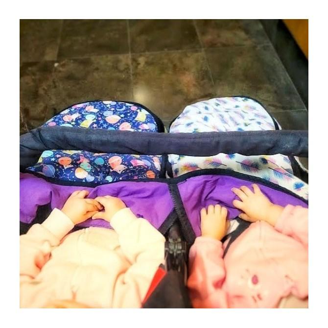 Saco gemelar universal verano - elige el estampado