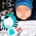Baby musical toy blue teddy bear