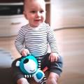 Juguete musical bebé Oso azul sentado