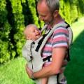 Porte-bébé physiologique - beige