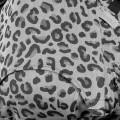 detalle Mochila portabebés Fidella fusion Silver leopard