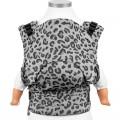 frente Mochila portabebés Fidella fusion Silver leopard