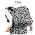 lateral Mochila portabebés Fidella fusion Silver leopard