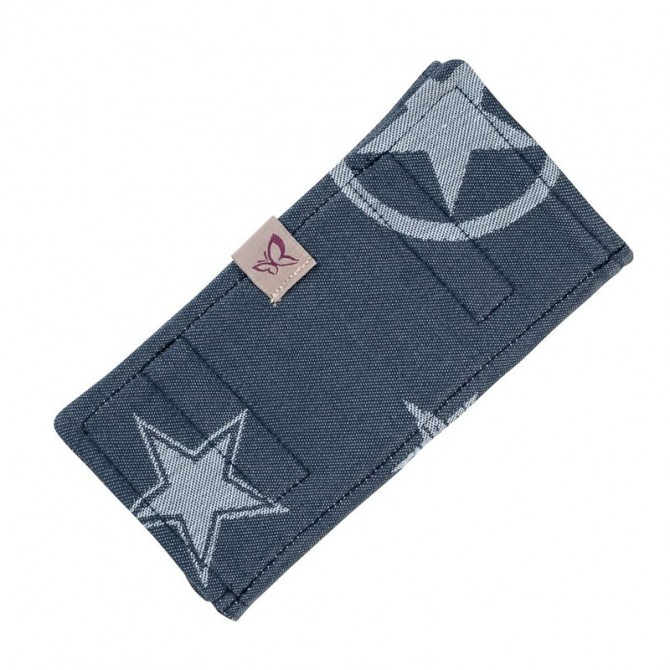 Outer space blue strap covers